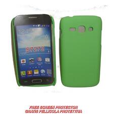 Pellicola+custodia BACK COVER RIGIDA VERDE per Samsung Galaxy Ace 3 S7270 S7272