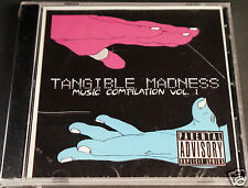 Tangible Madness Music Compilation Of Underground Hip Hop Rap Experimental CD