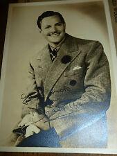 Vintage Donald Woods Signed/Autographed Photo - Sepia - Original Envelope