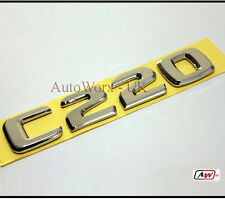 C220 C Class Rear Boot Badge Letters Emblem W203 W204 W205 S203 S204 Mercedes