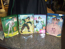 Wizard Of Oz Barbie Doll Colection All Nib Never Been Played With