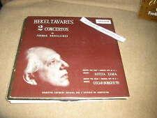 LP Klassik Hekel Tavares  2 Concertos BRASILIAN PRESSING Lima / Borgerth