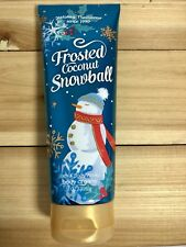 Bath and Body Works Frosted Coconut Snowball Ultra Shea Cream 8 Oz New