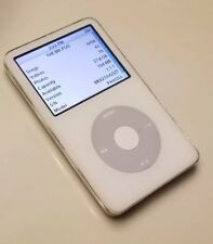 Apple iPod Classic 5th G 30GB A1136 WhitE (has 4456 SONGS) *AS IS *PLEASE READ *