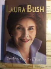 Spoken from the Heart SIGNED Laura Bush 1st Ed MINT