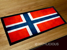 Norway flag bar runner Pubs Clubs & Cocktail Bars