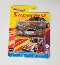New ListingMatchbox Superfast Porsche 911 Turbo * Gray * Nip 1:64 Scale