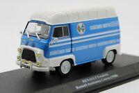 Furgone 1/43 van Renault Estafette rally team 1968 Alpine A110 IXO diecast model