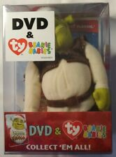 Shrek the Halls Dvd and Ty Beanie Babies Shrek Christmas Exclusive New & Sealed