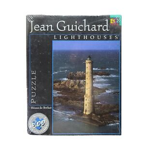 Buffalo Games Jean Guichard Lighthouses 500 Pieces SEALED