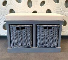 New Hallway Bench Shoe Storage Bench Seat Wood Seating Organiser Rack Baskets