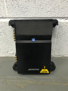 Alpine Car Audio 2 Channel Power Amplifier PMX-T320