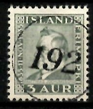 Iceland Number cancel #192 used in Dynjandi