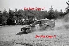 Amilcare Ballestrieri Alfa Romeo Alfetta GT San Remo Rally 1975 Photograph 1