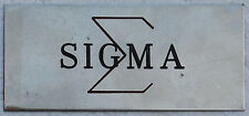Wartime 5th Special Forces Group, Project SIGMA Insignia / Plaque Piece