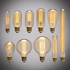 Retro Edison Light Bulb E27 220v 40w St64 G80 G95 T10 T45 T185 A19 A60 Filament