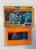 Formation Z Famicom Nintendo FC Japan NES JALECO Action Robot GAME NTSC-J w/Box