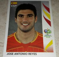 FIGURINA CALCIATORI PANINI GERMANY 2006 SPAGNA REYES ALBUM 06