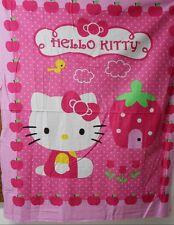"1 Hello Kitty ""Cupcake"" Wallhanging/Lap Quilt Panel  Fabric"