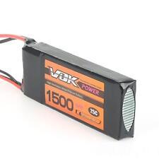 7.4V 2S 25C 1500mAh Lipo Batterie JST Plug pour Avion Car Truck Boat Parfait