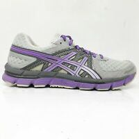 Asics Womens Gel Excel 33 T271N Gray Purple Running Shoes Lace Up Low Top Size 9