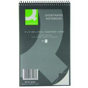 10 x 160 Page 80 Sheets Notepad Notebook Shorthand Pad Reporter Pad