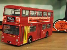 EFE 10 YEARS OF LBRT CODE 3 LONDON TRANSPORT DAIMLER FLEETLINE BUS MODEL 1:76