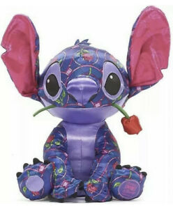 Stitch Crashes Disney Parks Beauty And The Beast Plush NEW Limited Release 1/12