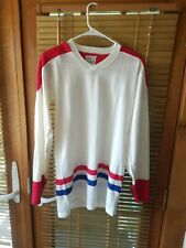 Vintage Coane Hockey Jersey New York Rangers Size Small Cosby Sandow made in Us