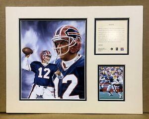 Buffalo Bills Jim Kelly 1996 NFL Football 11x14 MATTED Kelly Russell Print