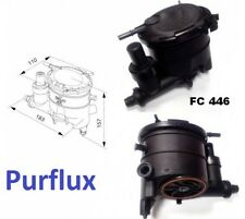 FUEL FILTER HOUSING CITROEN PEUGEOT 1.9 D DW8 (PURFLUX FC446)