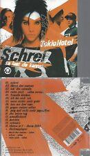 CD--TOKIO HOTEL--SCHREI -SO LAUT DU KANNST-
