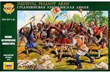ZVEZDA 8059 1/72 Medieval Peasant Army