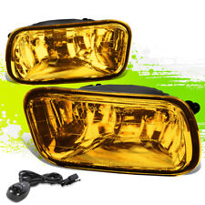 FOR 09-12 RAM TRUCK REPLACEMENT AMBER LENS BUMPER DRIVING FOG LIGHT/LAMP+SWITCH
