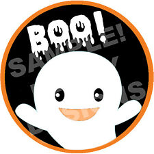 HALLOWEEN PARTY -  Edible Cake Topper Frosting Sheet Image Round CUSTOMIZABLE!