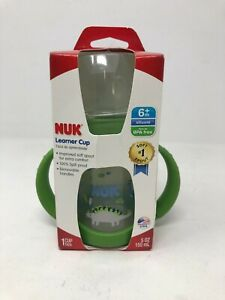 Nuk Learner Cup 6+m, Green, 1 Count