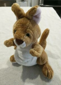 "Ganz Plush Webkinz Kangaroo NO CODE 9"" Stuffed Animal Toy"