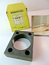Enerpac Aw 90 Cylinder Mounting Flange Rectangular Threaded Block 3 18 16 Nos