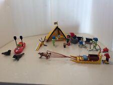 Playmobil - Ref. 3463 - Expedicion Polo incompleta + varios (trineo, focas,..)