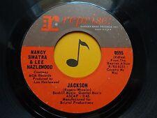 NANCY SINATRA/LEE HAZELWOOD ~ Jackson ~ 45's record ~ ROCK/POP ~ 1966 ~ VG++