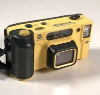 Minolta Weathermatic Dual 35mm Point & Shoot Film Camera Untested