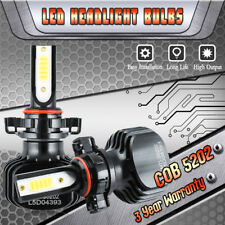 5202 2504 PSX24W Dual Color LED Fog Light 3000K 6000K Bulbs Kit 1000W 150000LM