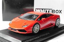 LAMBORGHINI HURACAN LP 610-4 RED 2014 WHITEBOX WB504 1/43 ROSSO ROUGE ROT ITALIA