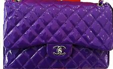 CHANEL Jumbo Flap Bag Violet Purple, Limited Edition