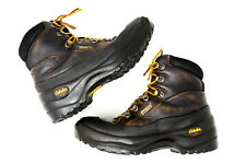 Cabelas Leather Gore-Tex Hiking Boot Men's 7 D AKU Vibram Ankle Lace Up Italy