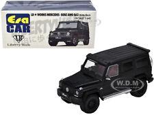MERCEDES BENZ AMG G63 LB WORKS WAGON MATT BLACK 1/64 DIECAST ERA CAR MB204X4SP28