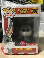 FUNKO POP BUGS BUNNY FLOCKED LOONEY TUNES #307 TARGET SOLD OUT ONLINE EXCLUSIVE