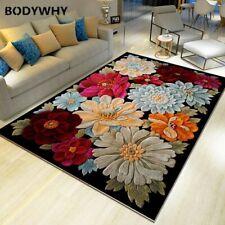 3D Flower Carpets Bedroom Living Room Ocean Rugs Kids Room Kitchen Stairs Carpet
