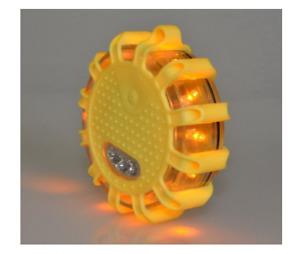 LED Road Flares Flashing Warning Light Roadside Flare Emergency Safety 2 color
