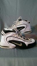 Nike Air Max Penny 1 Rare! white black silver size 13 retro